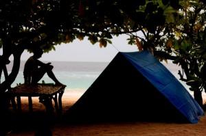 Camping in Lihaga Island